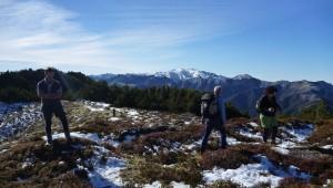 The panoramic views of the Kaweka Ranges