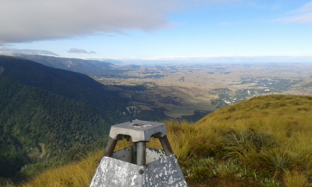 The view west from Colenso Trig