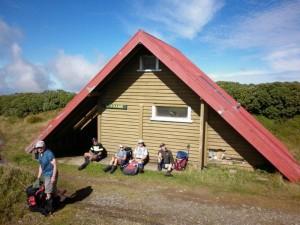 The nicknamed A Frame Hut aka Travers Hut