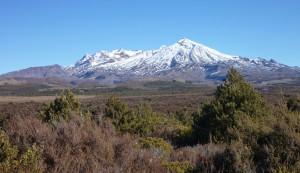Mt Ruapehu, from the Waihohonu track