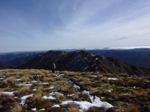Heading towards Ballards/Tira with Ruapehu and Tongariro in distance