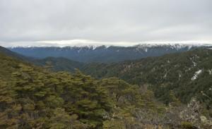 The views of the main range