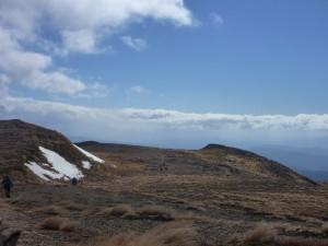 The broad tops of the Kaweka Ranges