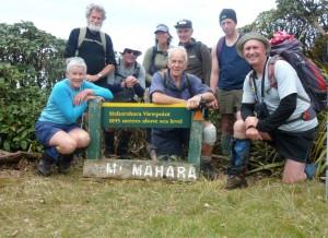 The group photo at Maharahara high point