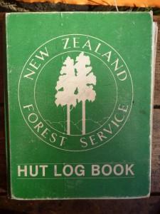 The historic hut book